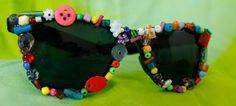 Fantasia de Carnaval - óculos customizados ~ Arte De Fazer   Decoração e Artesanato