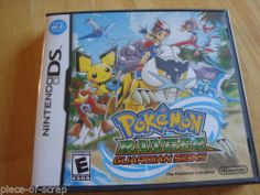 Pokemon Ranger Guardian Signs Video Game Nintendo DS DSi DS Lite 3DS Case Manual #pokemon #nintendo #nintendods