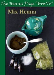 Great resource on how to mix henna, plus application and design tips for free!