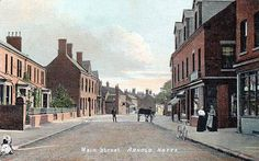Arnold Photos, Nottingham, Old Pictures, Maine, Street, Antique Photos, Old Photos, Walkway
