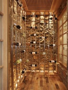 Great wine cellar for a smaller space