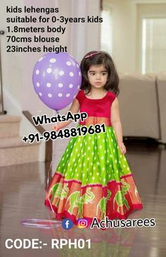 ideas for baby girl dresses for wedding indian Frocks For Girls, Dresses Kids Girl, Kids Outfits, Baby Dresses, Kids Indian Wear, Kids Ethnic Wear, Baby Lehenga, Kids Lehenga, Kids Dress Wear