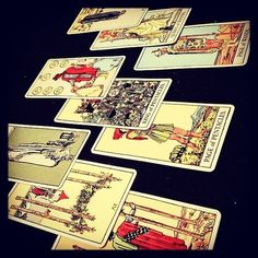 Make sure they shuffle tarot cards by hand
