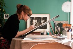 La casa de Paula Bonet Paula Bonet, Home Studio, My Favorite Part, Daydream, Canvas, Instagram Posts, Illustration, Inspiration, Home Decor