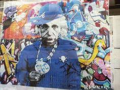 Einstein graffiti
