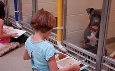 These Kids Reading to Shelter Dogs will Melt Your Heart