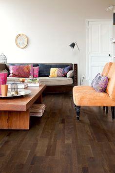 Quick-Step Variano 'Espresso Blend oak oiled, multi-strip' (VAR1632) Hardwood flooring - www.quick-step.com