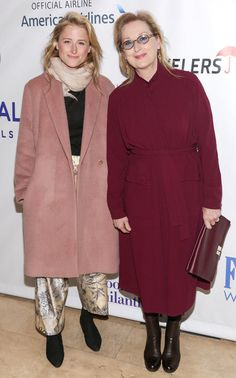 8 Style Lessons These Celebrity Daughters Learned from Their Famous Mothers - Meryl Streep and Mamie Gummer - from InStyle.com