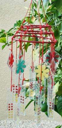 Glass Windchimes