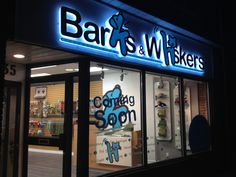 Barks & Whiskers // Store s Your Best Friend, Best Friends, Pet Boutique, Toronto, Dog Cat, Canada, Neon Signs, Pets, Store