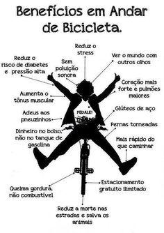 #Benefícios de andar de #bicicleta. Saiba como fazer mais coisas em…