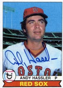 Andy Hassler, Boston Red Sox
