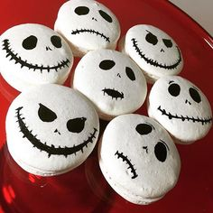 Halloween #macarons #halloween_macarons