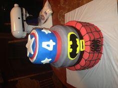 Super hero cake.