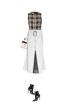"""""""Daiane"""" by fafefysfofu ❤ liked on Polyvore featuring Michael Kors, Beaufille, Balenciaga and Marni"""