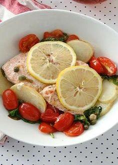 Easy salmon dinner