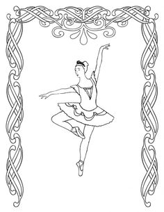 coloring-pages-realistic-ballet-colouring-pages-angelina-ballerina ... - Ballerina Coloring Pages Printable