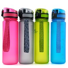 500ML Water Bottles Original Bpa Free Fashion Scrub Portable Space Cup Resistant Sports Nutrition Custom Shaker Bottles