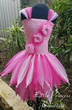 Fairy tutu dress Fairy Tutu dress Girls by PrincessCreationsAU