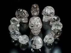 "One of archaeology's most compelling mysteries is that of the 13 Crystal Skulls. Skulls have been one of the most powerful objects of symbolism in human history, all over the world. Several ""perfect"" crystal Skulls have been found in parts of Mexico, Central and South America. Together, they form a mystery as enigmatic as the Nazca Lines, the Great Pyramids and Stonehenge."