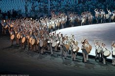 Opening Ceremony, Athens 2004 by mark_smiley, via Flickr