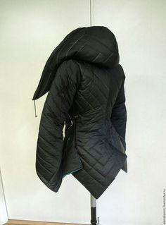 Верхняя одежда ручной работы. Заказать Тёплая стеганая куртка с яркой отделкой…