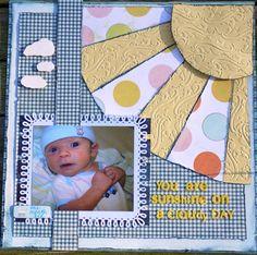 ~~Scraputante~~Sunshine Baby - Scrapbook.com