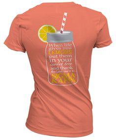 Sigma Kappa Sweet Tea T-shirt
