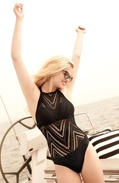 Blonde, glasses, boat?  Perf.