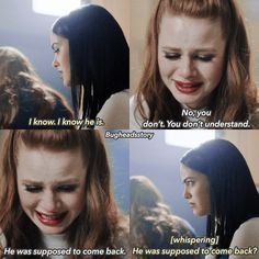 "1.02 Betty, Veronica or Cheryl? —Follow @bugheadsstory [me] for more posts! (Comment ""HURT"" letter by latter) POOR BABY. WHY HAVE HAVEN'T CHERYL GET TOO BE HAPPY, THE OTHERS HAVE BEEN HAPPY, BUT NOT CHERYL ❤️ MY BABY!"