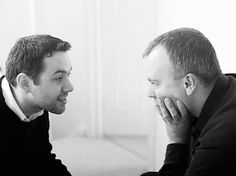 Reece Shearsmith && Steve Pemberton = <3     I'd totally marry Reece. . . If he lived around here. ;) And bear him zillions of  kids. Ha. Only a dream.