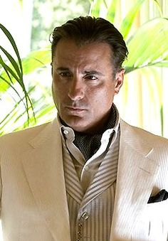 Andy Garcia. yes. forever sexy.