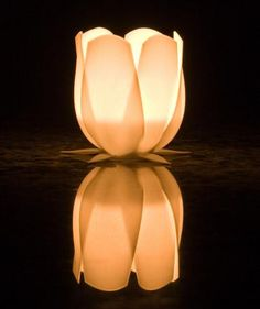 Tulip candle holder by sfx on Shapeways, the 3D printing marketplace