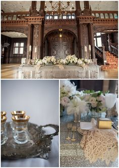 great gatsby inspired tablescape