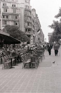 """Paris 1955 """"Avenue des Champs Elysees"""""""