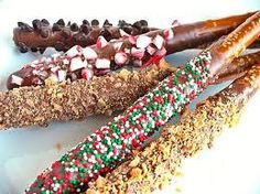 Chocolate Covered Pretzels Sticks Birthday party by AmedeosBakery, $19.50