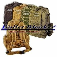 BulletBlocker NIJ IIIA Bulletproof Backpacks