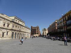 plaza de san francisco sevilla Sevilla Spain, Seville, Plaza, Lisbon, San Francisco, Street View, Adventure, World, Travel