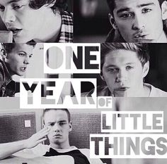 HAPPY ONE YEAR OF LITTLE THINGS!!!!