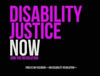 """injustice is not only alive and well but thriving here in the United States. Just as with people from other minority groups, people with disabilities face discrimination every day, even in a """"progressive"""" city like Chicago. Discrimination in terms of housing, employment and medical care. Discrimination in terms of marriage equality and the right to bear and raise children. Discrimination in terms of the right to control or even have a say in matters regarding their own bodies."""