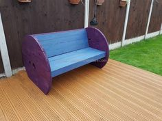 This isn't the matter that we haven't used the wooden cable reel somewhere earlier like we have consumed the same wooden cable reels in various projects. And this time we have decided to use this very cable reel in making this pallet plus cable reel garden bench.