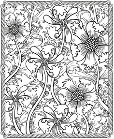 Flower coloring pages, mandala coloring, doodle coloring, free coloring . Adult Coloring Pages, Pattern Coloring Pages, Flower Coloring Pages, Colouring Pages, Printable Coloring Pages, Coloring Sheets, Coloring Books, Mandalas Painting, Mandalas Drawing