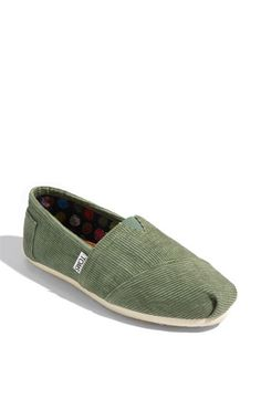 TOMS 'Classic' Corduroy Slip-On (Women) available at #Nordstrom