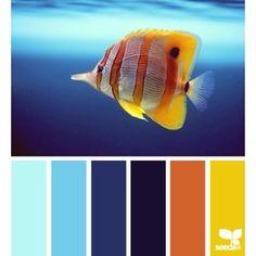 Blurb ebook: Design Seeds by Seed Design Consultancy LLC Scheme Color, Colour Pallette, Colour Schemes, Color Combos, Color Patterns, Design Seeds, Stoff Design, World Of Color, Color Swatches