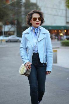 High On Fashion: Pale Blue