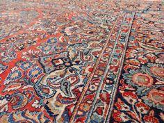 Antique Iranian Large Carpet, 1920s 8  #antiquerugs #iraniancarpet #antiquecarpet antique carpets oriental rugs | antique carpets living room | antique carpets patterns | antique carpets beautiful | antique carpets art deco | Antique Carpets (New Delhi - India) | Antique Carpets & Rugs | Antique Carpets in Art | Antique Carpets,rugs,tapestries..... |