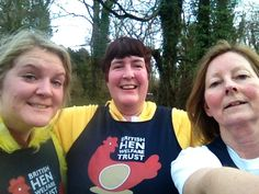 Naomi, Gaynor & Helle running the Plympton 10k this year! Well done girls