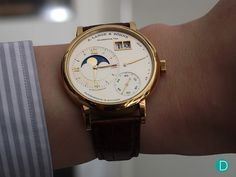 THE COLLECTOR'S VIEW: REVIEW OF A PERSONAL GRAND LANGE 1 MOON PHASE