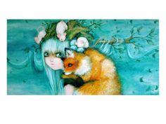 Nature's Tree Princess - by Camilla D'Errico.