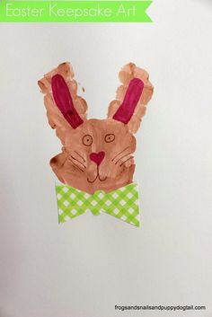 Frogs and Snails and Puppy Dog Tail (FSPDT): Bunny Handprint Art. Fun easter craft for kids. Holiday Crafts For Kids, Easter Crafts For Kids, Crafts To Do, Easter Ideas, Easter Activities For Kids, Craft Activities, Handprint Art, Bunny Art, Holidays With Kids